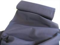 Baumwollstoff uni dunkelblau // pro lfm