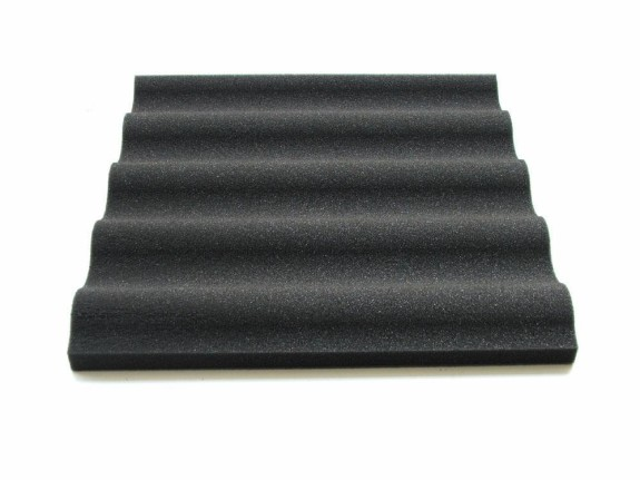 Sound Absorption Panel 40 mm Wave aus 26/35F - 50 x 50 x 4cm