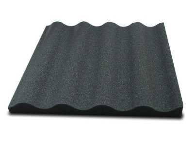 Sound Absorption Panel 40 mm Wave aus 26/35F - 50 x 50 x 4cm