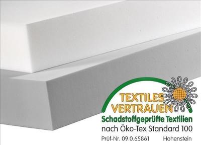 Tafel 100 x 50cm aus BASOTECT® 8cm weiß