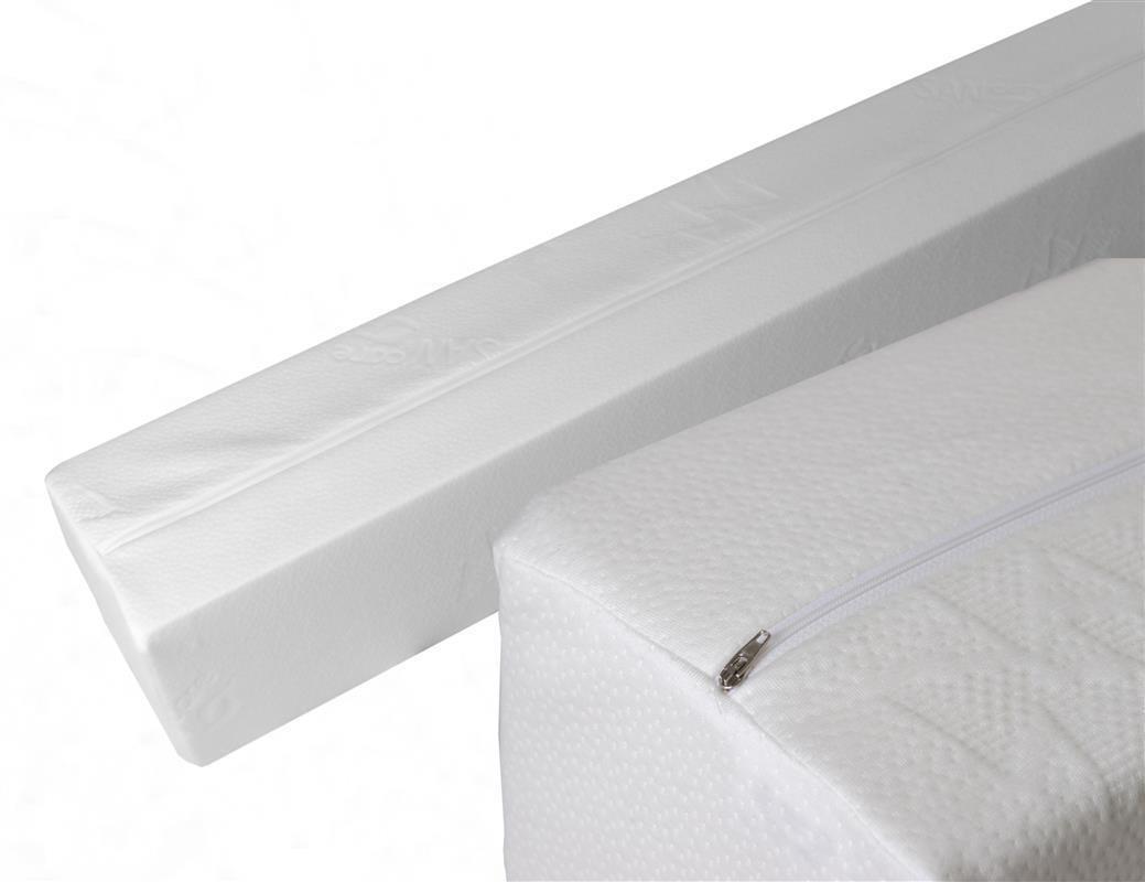 matratzenverl ngerung aus schaumstoff rg 35 190x10x10cm mit sancare b 46 90. Black Bedroom Furniture Sets. Home Design Ideas