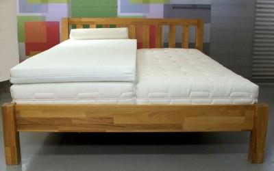 SW Bedding Viscoelastische Matratzenauflage 7cm mit Bezug Maß: 200 x 200cm H2 - mittelfest SanCare