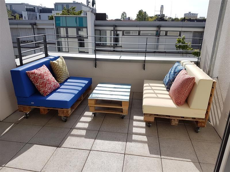 palettenpolster f r lounge sofam bel schaumstoff rg 35 set 120x 192 90. Black Bedroom Furniture Sets. Home Design Ideas
