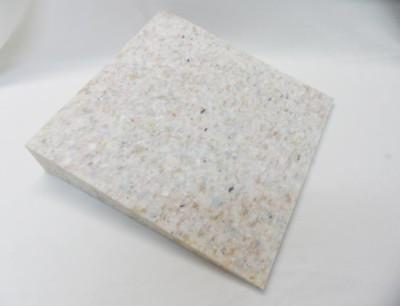 Orthopädisches Keilkissen aus Verbundschaumstoff 37x37x7/1cm Microfaser terrakotta