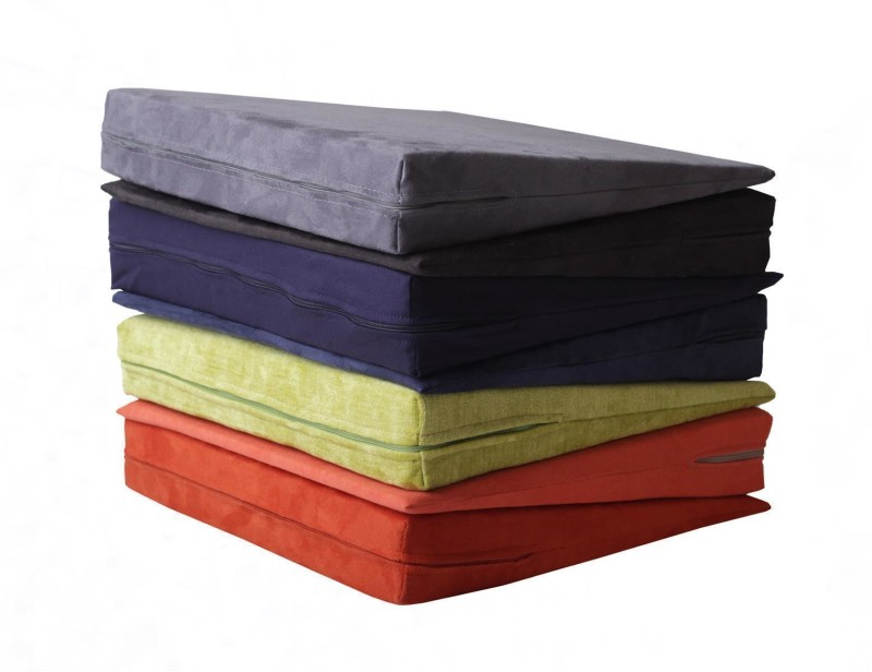 orthop disches keilkissen aus verbundschaumstoff 37x37x10 1cm microfa 31 90. Black Bedroom Furniture Sets. Home Design Ideas
