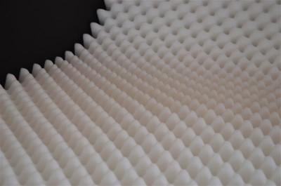 PUR Noppenschaum Platte RG 17/20 weiß - 206x130cm