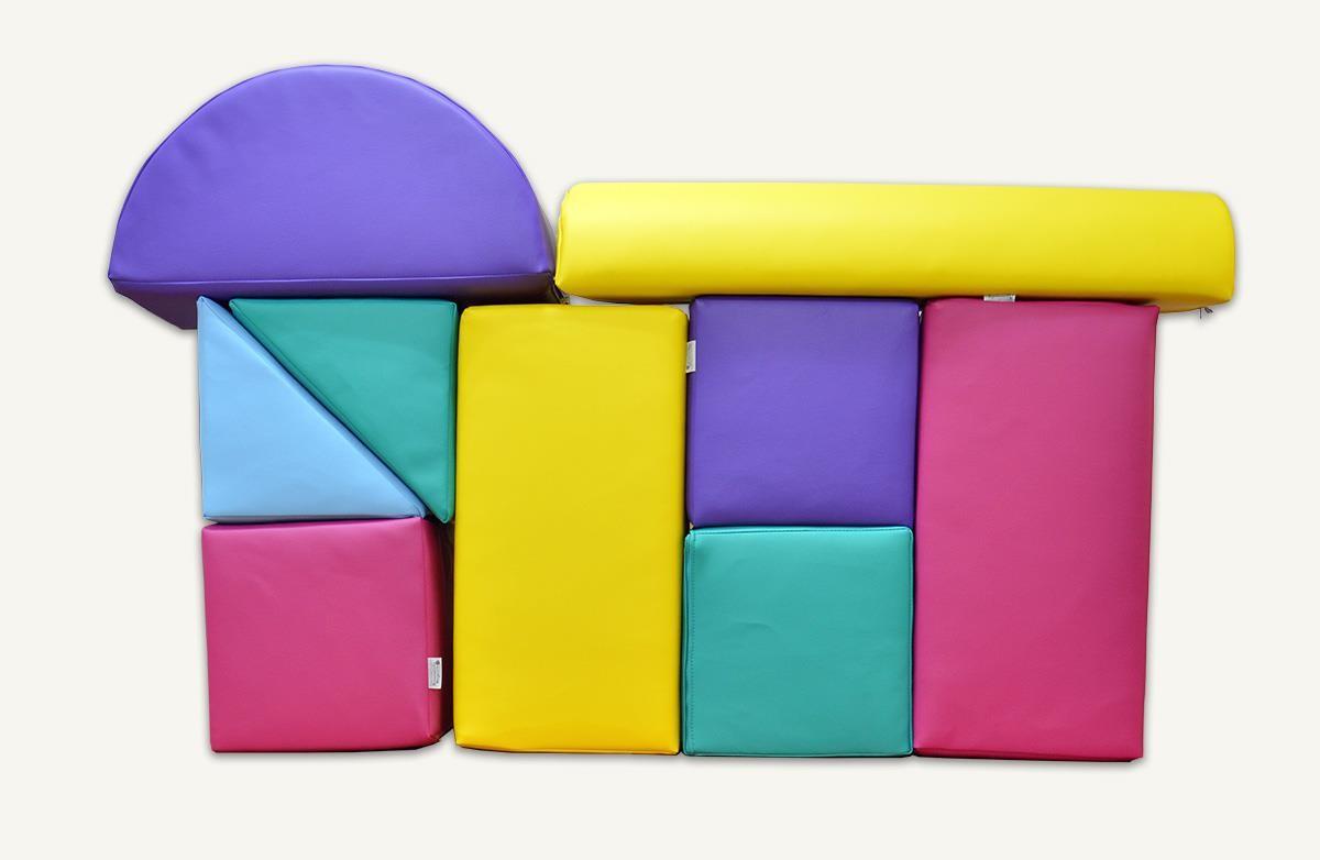 bausteine set aus rg30 35 mit kunstlederbezug 9 teilig 419 00. Black Bedroom Furniture Sets. Home Design Ideas