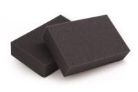 Bastel- / Verpackungs RG26/35F anthrazit verschiedene Stärken - Platte 206x100cm