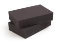 Bastel- / Verpackungs Schaumstoffplatte RG26/35F anthrazit - 206x100cm 1cm