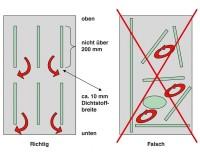 Kleber B1 DIN 4102 Silikon-Kartusche 310ml für...