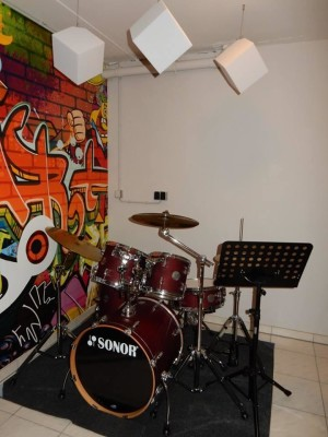 Akustikwürfel aus BASOTECT® lichtgrau 20 x 20 x...