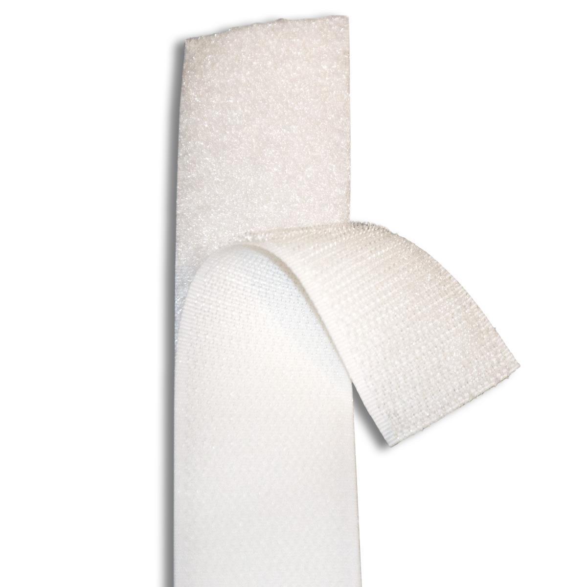 klett und flauschband selbstklebend 20mm breit wei 31 00. Black Bedroom Furniture Sets. Home Design Ideas