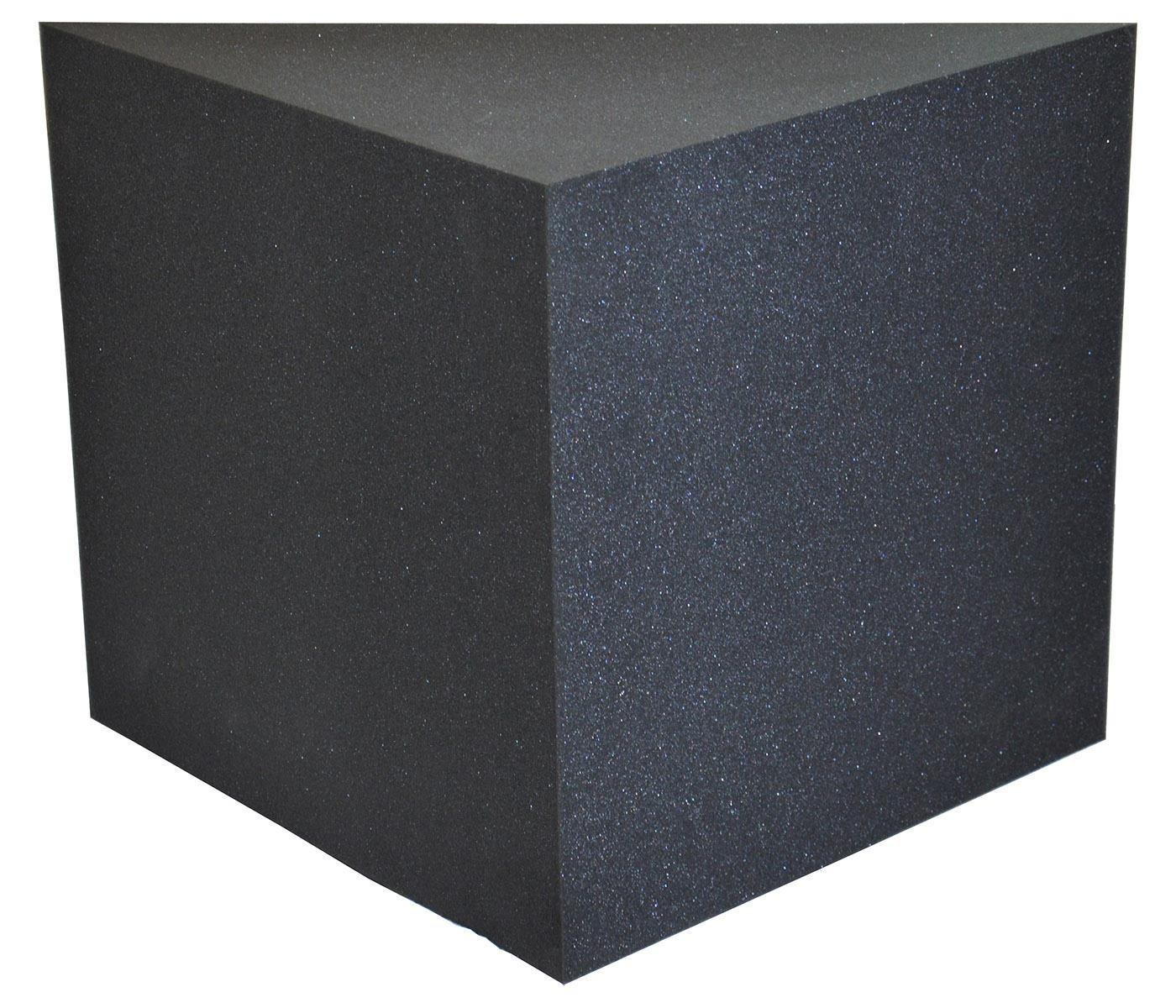 Bass trap f r raumakustik akustikschaumstoff schall for Kuchenschrank 50 x 50