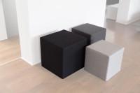 Akustik Sitzhocker Quader Absorber-Element mit vielen...