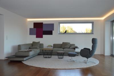 Akustik-Paneel Schall-Absorber als Designelement 40 x 40...