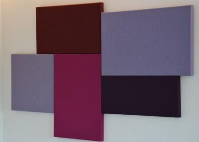 Akustik-Paneel Schall-Absorber als Designelement 50 x 50...