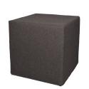 Akustik-Sitzhocker Quader Absorber-Element mit vielen Funktionen 40 x 40 x 40 cm anthrazitgrau 0002