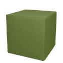 Akustik-Sitzhocker Quader Absorber-Element mit vielen Funktionen 45 x 45 x 45 cm maigrün 0027