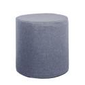Akustik Sitzhocker Rund Absorber-Element mit vielen Funktionen Ø 45 x Höhe 45cm taubenblau 0016