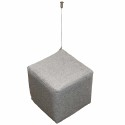 Akustikwürfel Deckenwürfel Absorber aus PU-Schaum zum Abhängen inkl. Akustik-Wollfilz Bezug + Befestigung