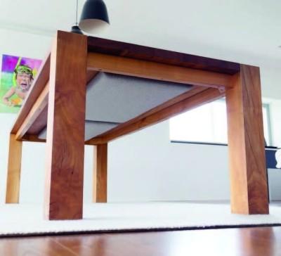 Akustik Pad Schall-Absorber als Designelement 40 x 40 cm terrabraun 0008