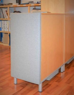 Akustik Pad Schall-Absorber als Designelement 50 x 100 cm...