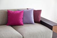 Akustik-Sofa-Kissen aus Wollfilz mit Inlett