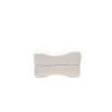 SW Bedding Orthopädisches Kniekissen Beinkissen klappbar aus Visco mit Bezug